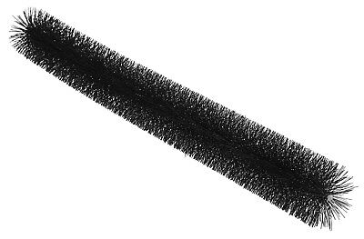 Dachrinnen-Rinnenraupe DN 120,1200 mm lang, schwarz Laubschutz, Marderschutz,  ()