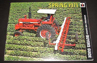 Ih International Farm Equipment Spring 1971 Buyers Guide