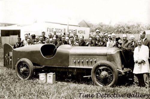 Vintage Anzac Racing Car, Australia - Historic Photo Print