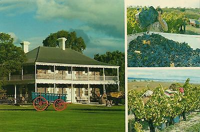 BAROSSA VALLEY SA WINERIES POSTCARD PRE-STAMPED Australia Post Series III 22c