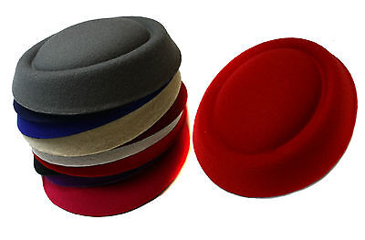 Fascinator Supplies Wholesale (Fascinator Base Felt Like Pillbox Hat DIY Material Make Supplies)