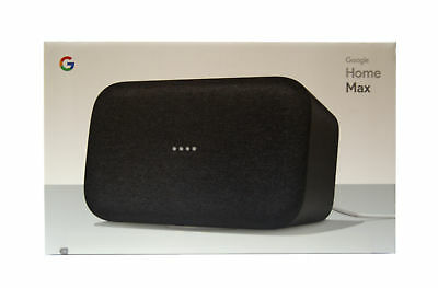 Google - Home Max - Smart Speaker with Google Assistant - Charcoal