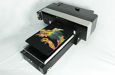 Dtg Direct To Garment T-shirt Personal Dvd Printer Build Video Pdf And Soft Dvd
