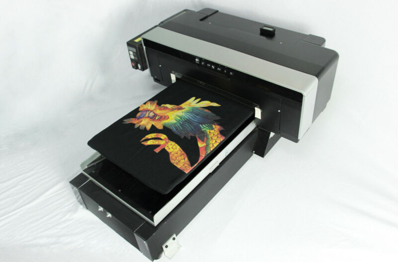 DTG Direct To Garment T-Shirt Personal DVD Printer BUILD Video, PDF and SOFT DVD