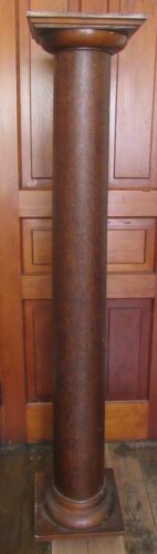 Four Matching Oak Architectural Columns - C- 1890 - from Old Home
