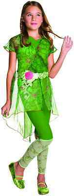 Poison Ivy DC Comics Superhero Girls Fancy Dress Halloween Deluxe Child Costume](Poison Ivy Kids Costume)
