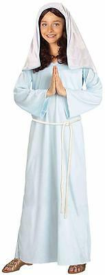 Mary Biblical Times Virgin Mother Christmas Fancy Dress Halloween Child Costume - Mother Baby Girl Halloween Costumes