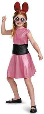Blossom Powerpuff Girls Cartoon Network Fancy Dress Up Halloween Child Costume (Powerpuff Fancy Dress)