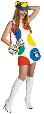 Twister Sassy Deluxe Board Game Fancy Dress Up Halloween Sexy Adult Costume