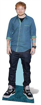 Ed Sheeran LIFESIZE CARDBOARD CUTOUT / Standee / Standup pop star musician