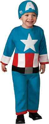 Captain America Baby Halloween Costume (Captain America Marvel Avengers Superhero Halloween Baby Toddler Child)