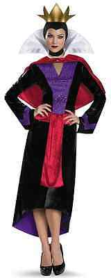 Evil Queen Sparkle Deluxe Disney Snow White Fancy Dress Halloween Adult Costume - Halloween Costumes Snow White Queen