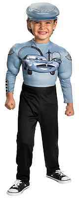 Finn McMissile Muscle Disney Cars Fancy Dress Up Halloween Toddler Child Costume