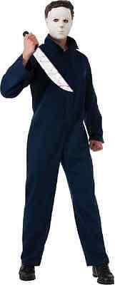 Michael Myers Halloween Movie Serial Killer Fancy Dress Up Deluxe Adult - Serial Killers Halloween Costumes