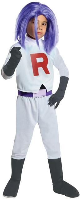 Pokemon James Team Rocket Dress Costume Child