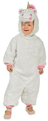Fluffy Despicable Me 3 Movie Unicorn Fancy Dress Halloween Toddler Child - Despicable Me Toddler Halloween Costumes