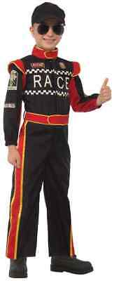 Race Car Driver Racer Pro Racing Sports Fancy Dress Up Halloween Child - Child Race Car Driver Costume