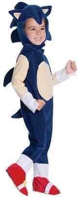 Sonic Boom Hedgehog Sega Video Game Fancy Dress Halloween Toddler Child Costume - Halloween Baby Games