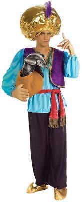 Snake Charmer Desert Prince Arabian Fancy Dress Up Halloween Adult Costume](Snake Charmer Halloween Costume)