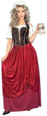 Tavern Wench Halloween Costumes (Tavern Wench Medieval Pirate Renaissance Fancy Dress Up Halloween Adult)