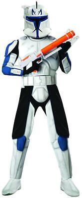 Captain Rex Star Wars Clone Trooper Fancy Dress Halloween Deluxe Adult Costume (Captain Rex Costume)