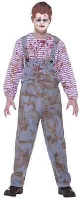 Haunted Child Doll Chucky Killer Child's Play Fancy Dress Up Halloween Costume