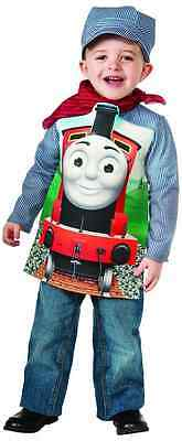 Thomas The Train Halloween Costumes (James Thomas the Tank Engine Train Fancy Dress Halloween Toddler Child)