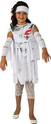 Mummy Dress Up (Mummy Love Egyptian Pharaoh Girl Scary Fancy Dress Up Halloween Child)