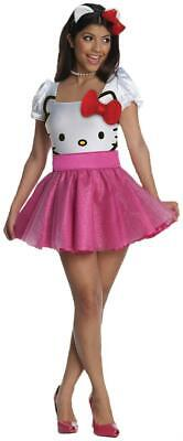 Hello Kitty Halloween- Teen- adult Costume by Rubie's](Halloween Kitten Costumes)
