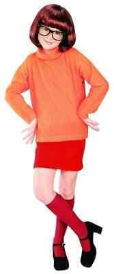 Velma Scooby-Doo 60's Mod Hippie Retro Nerd Fancy - Velma Halloween Kostüme