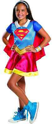 Supergirl DC Comics Superhero Girls Cute Fancy Dress Up Halloween Child Costume