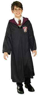 Harry Potter Gryffindor Robe Wizard Fancy Dress Up Halloween Kids Child Costume ()