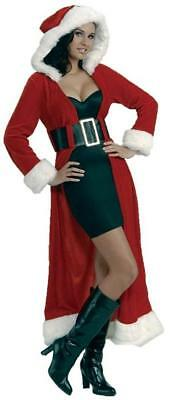 Enchanting Miss Christmas Claus Holiday Fancy Dress Up Halloween Adult - Claus Holiday Dress Kostüm