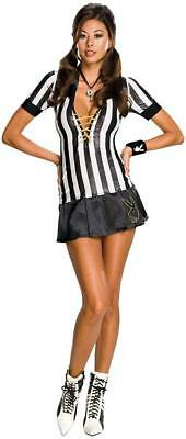Sexy Referee Wicked Cute Playboy Fancy Dress Up Halloween Adult Costume