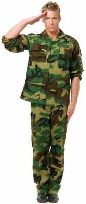 G.I. Camo Safari Army Camouflage Military Soldier Fancy Dress Halloween Costume](Safari Halloween Costume)