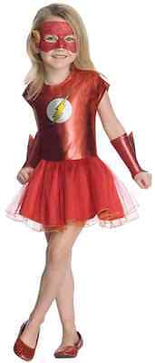 Flash Tutu DC Comics Superhero Fancy Dress Up Halloween Toddler Child Costume