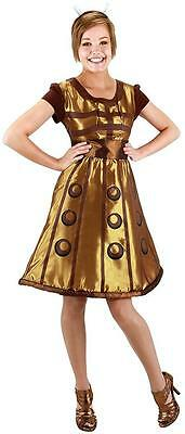 Dalek Doctor Who Dr. Alien Mutant Fancy Dress Up Halloween Adult Costume - Dr Who Costumes For Women
