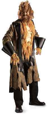 Big Mad Wolf Bad Werewolf Animal Scary Fancy Dress Halloween Adult Costume