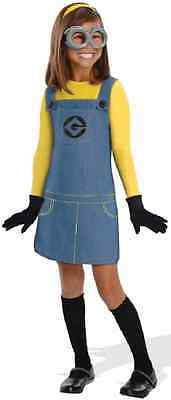 Female Minion Despicable Me Minions Fancy Dress Halloween Toddler Child Costume (Fancy Me Costumes)