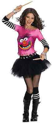 Animal The Muppets Pink Monster Cute Fancy Dress Up Halloween Sexy Adult Costume