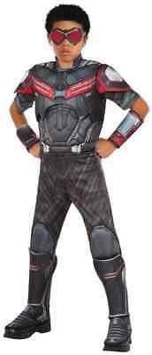 Falcon Captain America Civil War Marvel Superhero Halloween Deluxe Child Costume (Captain Falcon Kostüm)