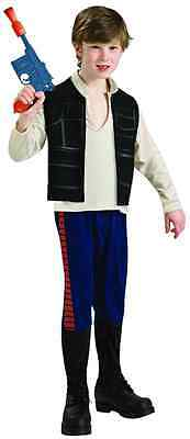 Han Solo Star Wars Classic Harrison Ford Fancy Dress Up Halloween Child Costume