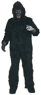 Gorilla Suit Plush Mascot Ape Monkey Animal Fancy Dress Halloween Adult Costume - Gorilla Suit Halloween
