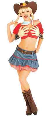 Texas Hold 'Em Cowgirl Daisy Mae Fancy Dress Up Halloween Sexy Adult Costume](Texas Holdem Halloween Costume)