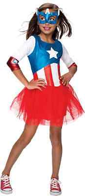 American Dream Metallic Marvel Superhero Fancy Dress Up Halloween Child Costume