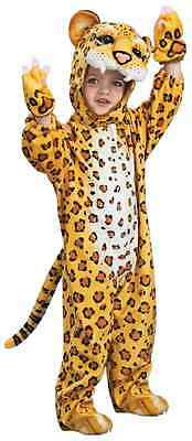 Leopard Cheetah Safari Animal Jungle Cat Fancy Dress Halloween Child Costume - Safari Animal Halloween Costume