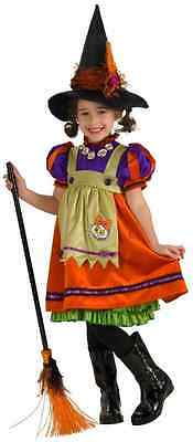 Orange Witch Wicked Country Cute Fancy Dress Up Halloween Toddler Child Costume