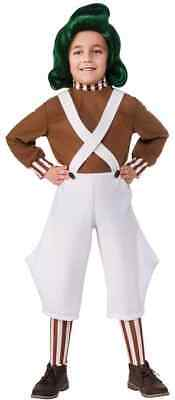 Oompa Loompa Willy Wonka Chocolate Factory Fancy Dress - Oompa Loompa Willy Wonka Kostüm