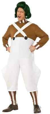 Oompa Loompa Willy Wonka Chocolate Factory Fancy Dress - Oompa Loompa Halloween-kostüm