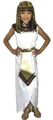 Cleopatra Egyptian Queen Nile Princess Fancy Dress Up Halloween Child Costume